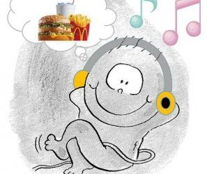 Your baby will prefer your music and your food!