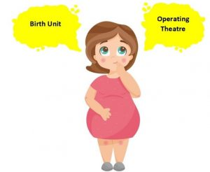 Caesarean section by choice